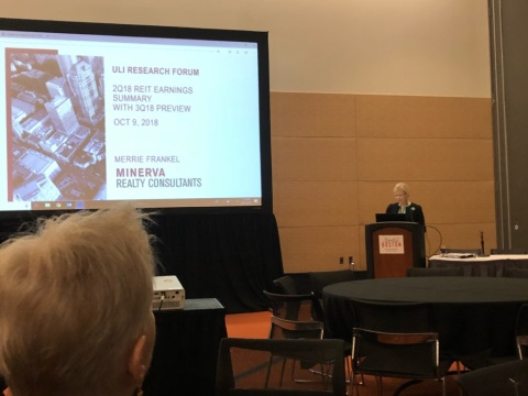 Merrie Frankel speaking at ULI